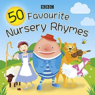50 Favourite Nursery Rhymes audiobook cover art