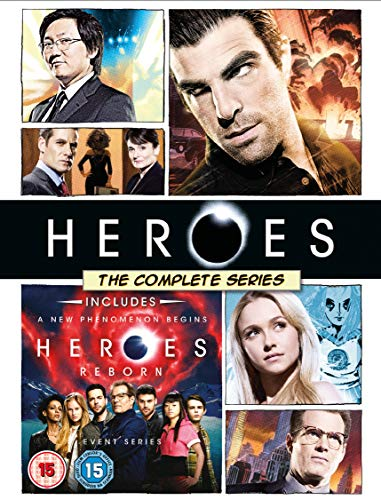 Heroes: The Complete Series (inc. Heroes Reborn) [DVD]