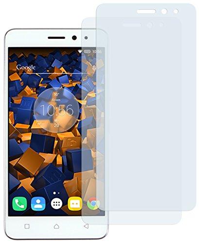 mumbi Schutzfolie kompatibel mit Lenovo K6 Folie klar, Bildschirmschutzfolie (2X)