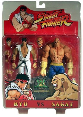 Street Fighter Superherotoys.com Exclusive Ryu & Sagat Action Figures 2-Pack