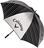 Callaway Golf UV 2020 Paraguas 1,62 cm Unisex-Adult, Nergo/Plata/ Blanco, Talla única