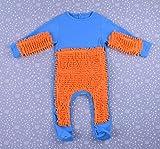 CHRRI Baby Romper, Kinder-MOP Jumpsuit Baumwollmantel Junge Mädchen Krabbeln Kostüm,K,80Cm
