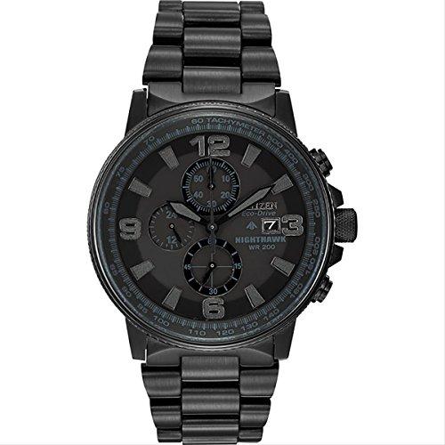 [シチズン] Citizen 腕時計 Nighthawk ナイトホーク 日本製クォーツ CA0295-58E メンズ 【並行輸入品】