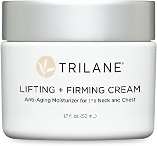 Dr. Tabor's Trilane Lifting + Firming Cream, 1 Bottle (1.75 fl. oz.) Reduces the Appearance of Sagging, Crepey Skin on the Neck and Chest