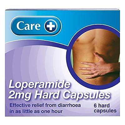Care+ 2 mg Loperamide Hard Capsules (6 Capsules Each Pack) x 3