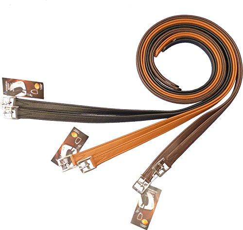 Passier Steigbügelriemen mit Soft-Touch schwarz 150cm
