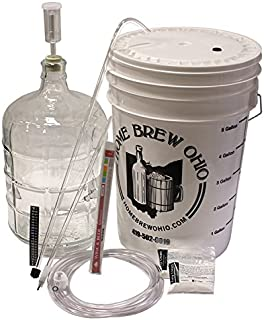 Winemakers Depot 3 Gallon Glass Wine Making Equipment Kit