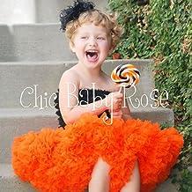 プリンセスチュチュ・パニエ・ペチスカート【オレンジ】 ふわふわリッチなベビーの衣装。超ボリュームだけど軽くって裾がふんわり揺れて楽しいから、ついこどもが笑顔になれて最高の写真撮影ができる!と評判のmiciaのチュチュ。