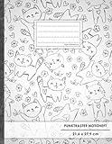 """Punktraster Notizbuch • A4-Format, 100+ Seiten, Soft Cover, Register, """"Lustige Katzen"""" • Original #GoodMemos Dot Grid Notebook • Perfekt als Bullet Journal, Zeichenbuch, Skizzenbuch, Calligraphie Buch"""