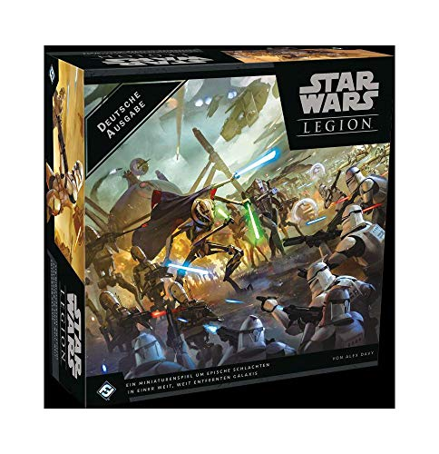 Asmodee Star Wars: Legion - Clone Wars, Grundspiel, Tabletop, Deutsch