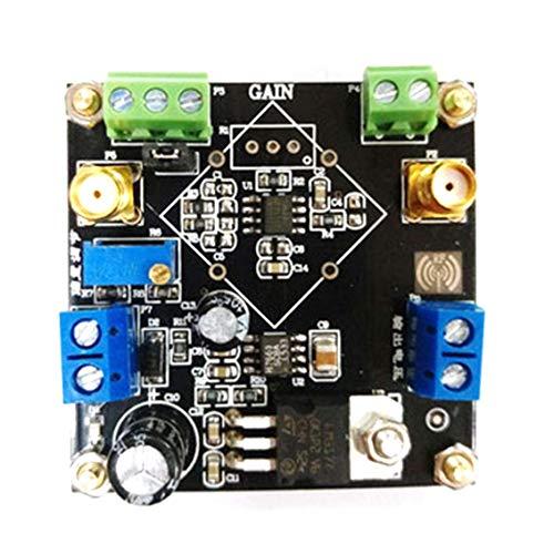 Panamami Amplificador de Instrumento AD623 Módulo Amplificador Señal de microvoltio diferencial de Extremo único Ajustable Amplificador DIY - Negro