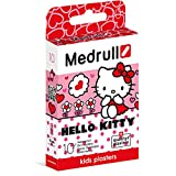 Medrull Juego de 2 cajas (2 x 10 piezas) de yeso para niños, diseño de Hello Kitty de Hello Kitty, impermeable, de alta calidad, color rosa