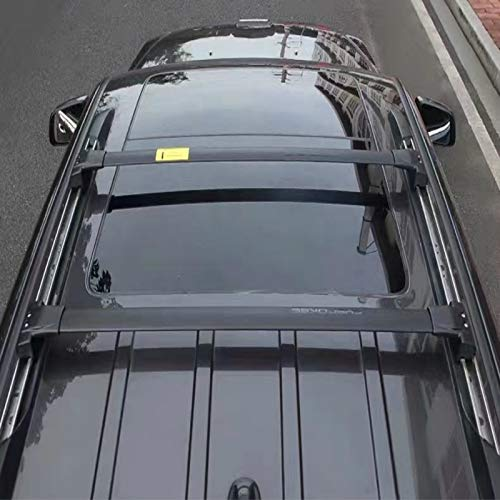 Junonne 2x Top Roof Rack Cross Bars Luggage Carrier Compatible with 2011-2020 Jeep Grand Cherokee