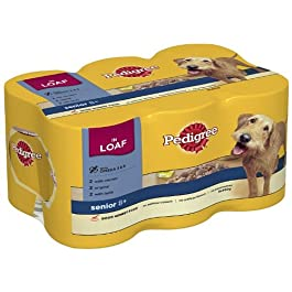 Pedigree Loaf Selection 6 x 400 g (Pack of 4, Total 24 Cans)