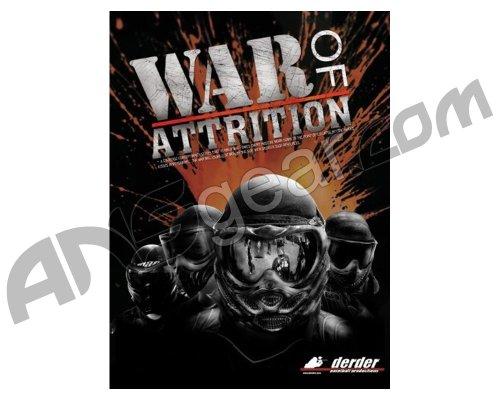 Paintball DVD Derder War of Attrition