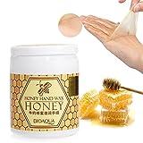 Mascarilla de cera para manos, 170 g, con leche y miel, efecto exfoliante e hidratante