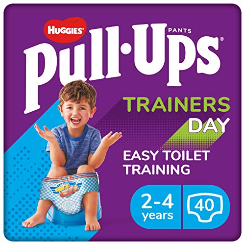 Huggies Pull-Ups Trainers Day, Potty Training Pants, Boys Nappy Pants Size...