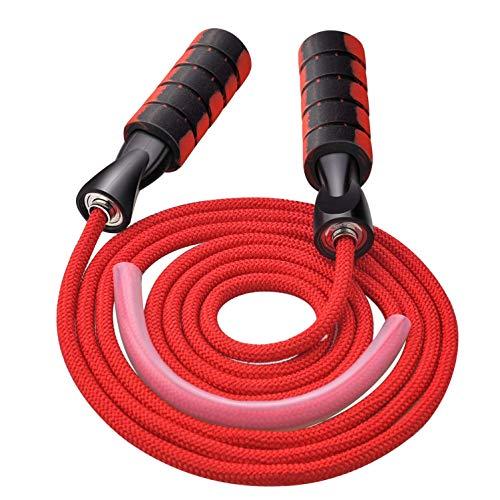 MICHETT Springseil Speed Rope Fitness Springseil für Männer und Frauen Verstellbares und verwicklungsfreies Sprungseil für Professioneller Sport Training Geeignet