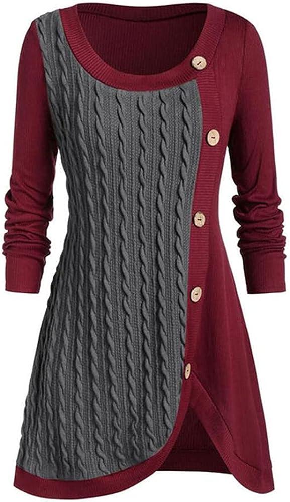 NP Winter Buttons Sweater Women Long Sleeve Knitted Sweater Female Women
