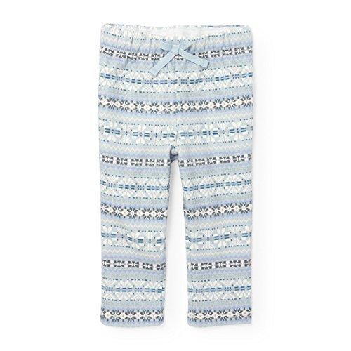The Children's Place Girls' Leggings 3/4 Pant, Cosmic Light, 3T