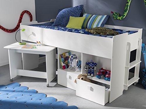Kombi-Bett Schreib-Schlaf-Kombi Etagenbett Schreibtisch Kinderzimmer