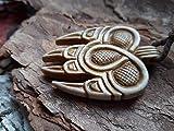 Bear Paw Necklace/Bearwarrior Berserk Amulet, Moose Antlers