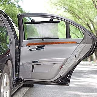 Professional 2pcs Car Side Window Sun Shades Visor Roller Blind Auto Screen Sunshade, Car Window Blind - Side Window Privacy Shade, Car Sun Blinds, Window Shades for Cars, Side Window Sunshades
