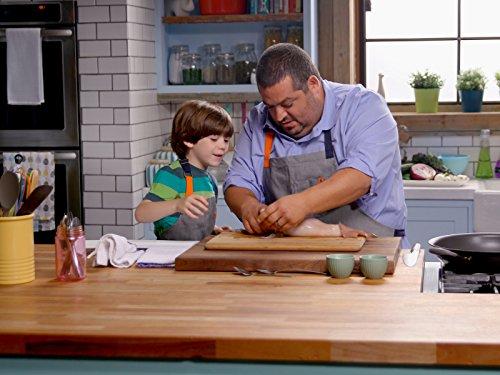 Chef Eric and Eli's Sea Creature Creation