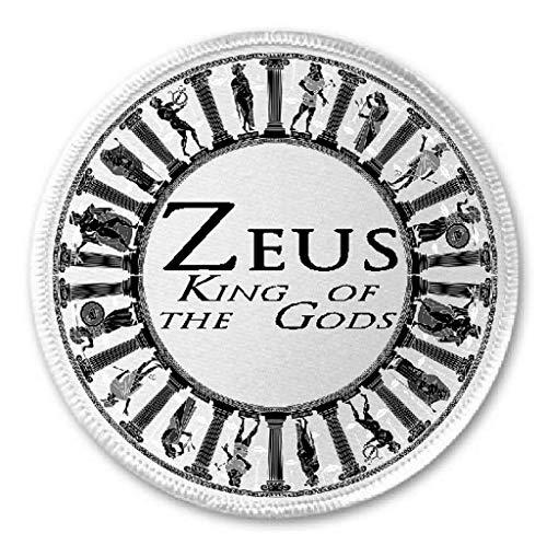 Zeus King of the Gods - 3' Sew/Iron On Patch Mythology Greek