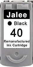 Jalee Negro Cartuchos de tinta refabricado para usar en lugar de Canon PG 40 Compatible para Canon PIXMA MP140 MP150 MP160 MP170 MP180 MP190 MP210 MP220 MP450 iP1300 iP1600 iP1700 iP1800 iP1900 iP2200