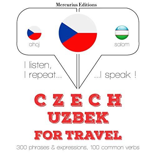 Czech - Uzbek. For travel cover art