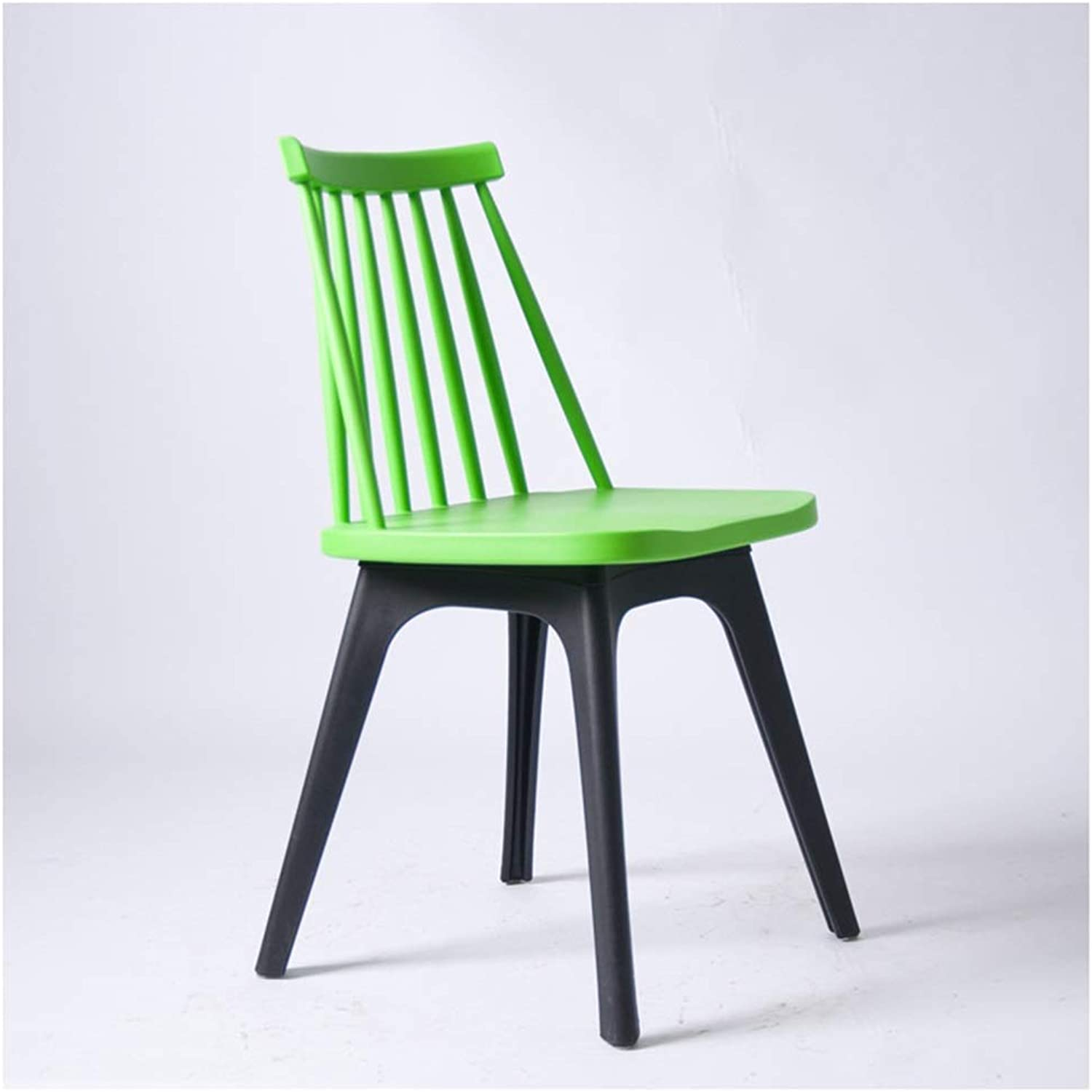 Home Bar Stool Chair Plastic Bar Stool Disassembly PP Injection Living Room Furniture Outdoor Leisure Waiting Chair Home Bar Furniture (color   Green)
