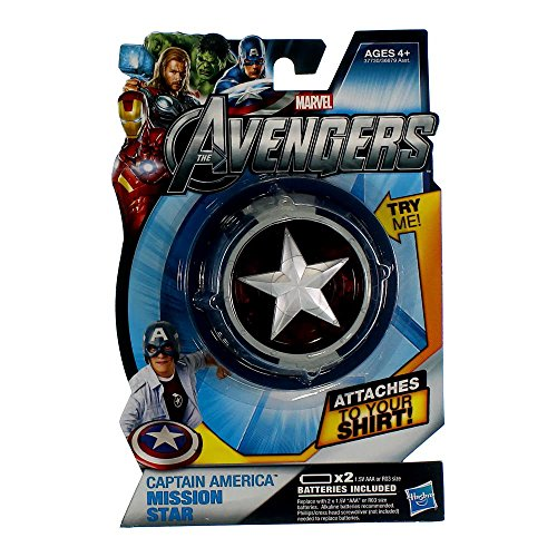 Marvel Avengers – Mission Star – Etoile de Captain America (Import Royaume-Uni)