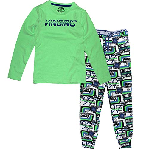 Vingino Wicks Jungen Pyjama neon Green (L-146/152)