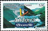 Prophila Collection Andorra - francés Correos Michel.-No..: 526 (Completa.edición.) 1998 Expo (Sellos para los coleccionistas)