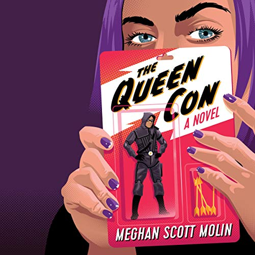 The Queen Con audiobook cover art