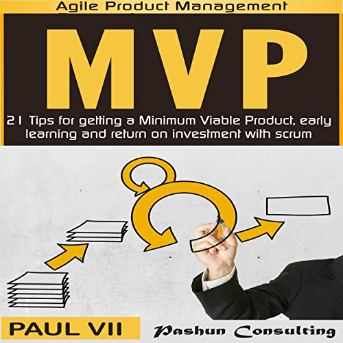 Minimum Viable Product with Scrum audiobook cover art
