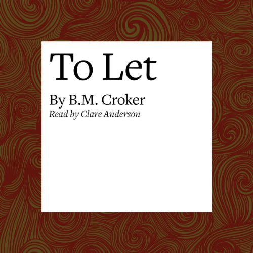 To Let audiobook cover art