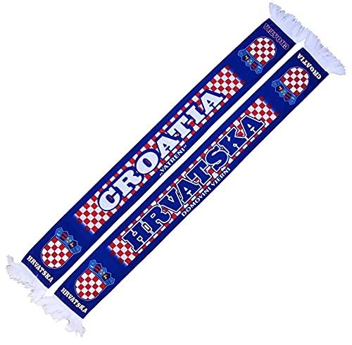 Generisch Kroatien, Hrvatska, Croatia Schal (Sommerschal, Seidenschal), für Europameisterschaft, Fußballschal, Kult-Schal