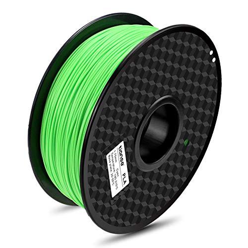 TIANSE Ciano filamento PLA per stampanti 3D, 1,75 mm, precisione dimensionale +/- 0,03 mm (2,2 lbs.)