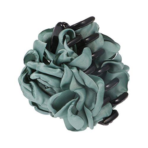 Haarspange - Haarclip - Haargreifer - Blumen Form - Haarklammer - Haarklemme - Haarschmuck - Grün