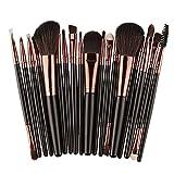 Pinceles de maquillaje Set, euzeo Brochas de Maquillaje lana schminkp Isla Make Up Eyeliner Blush Brocha Sombra Pincel