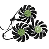 75MM PLD08010S12H T128010SU Cooler Fan for GIGABYTE AORUS GTX 1060 1070 Ti 1080 Ti G1 Gaming GV-N98T GTX 980 970 960 NTITANX Video Card Cooler Fan (3 Pcs T128010SU)