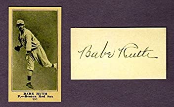 babe ruth metal baseball cards