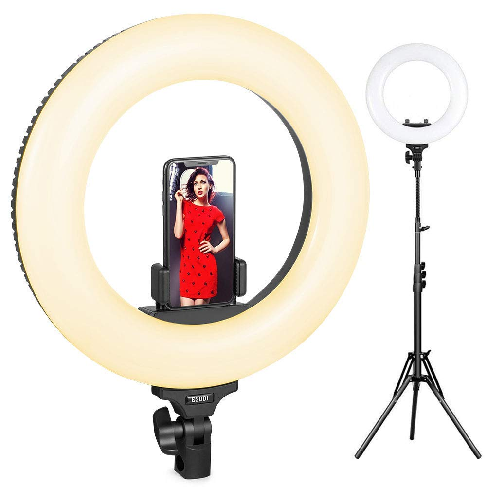 3200K-6000K Adjustable Color Temperature Dimmable LED 12 Inch Ring Light HAVOX