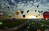 Grupo de globos aerostáticos de Turquía - Madera Puzzle 1500 Piezas Adultos Ocio Diy Toys Decoracion