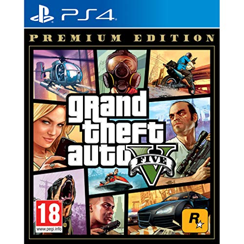 Grand Theft Auto 5 (GTA V) - Premium Edition - PS4 (PS4)
