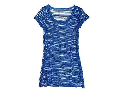 Esmara - Abito da donna a rete, colore: blu, taglia S/M/L Blu m