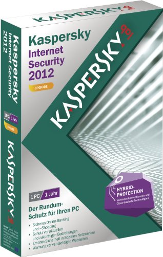 Kaspersky internet security 2012 - Mise à jour (1 poste, 1 an) [import allemand]