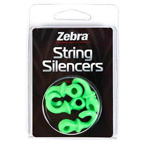 ZEBRA String Silencers Pack, Green
